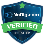 NoDig Verified Installer badge