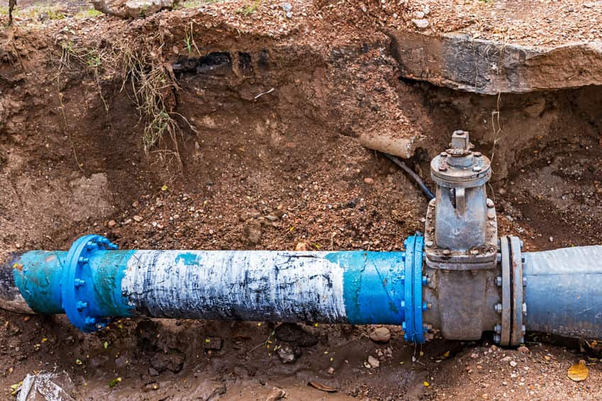 water line repair in Oro Valley, AZ
